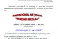 SIMPOZIONUL NAȚIONAL EDMOND NICOLAU, EDIȚIA A XIV-A – ONLINE